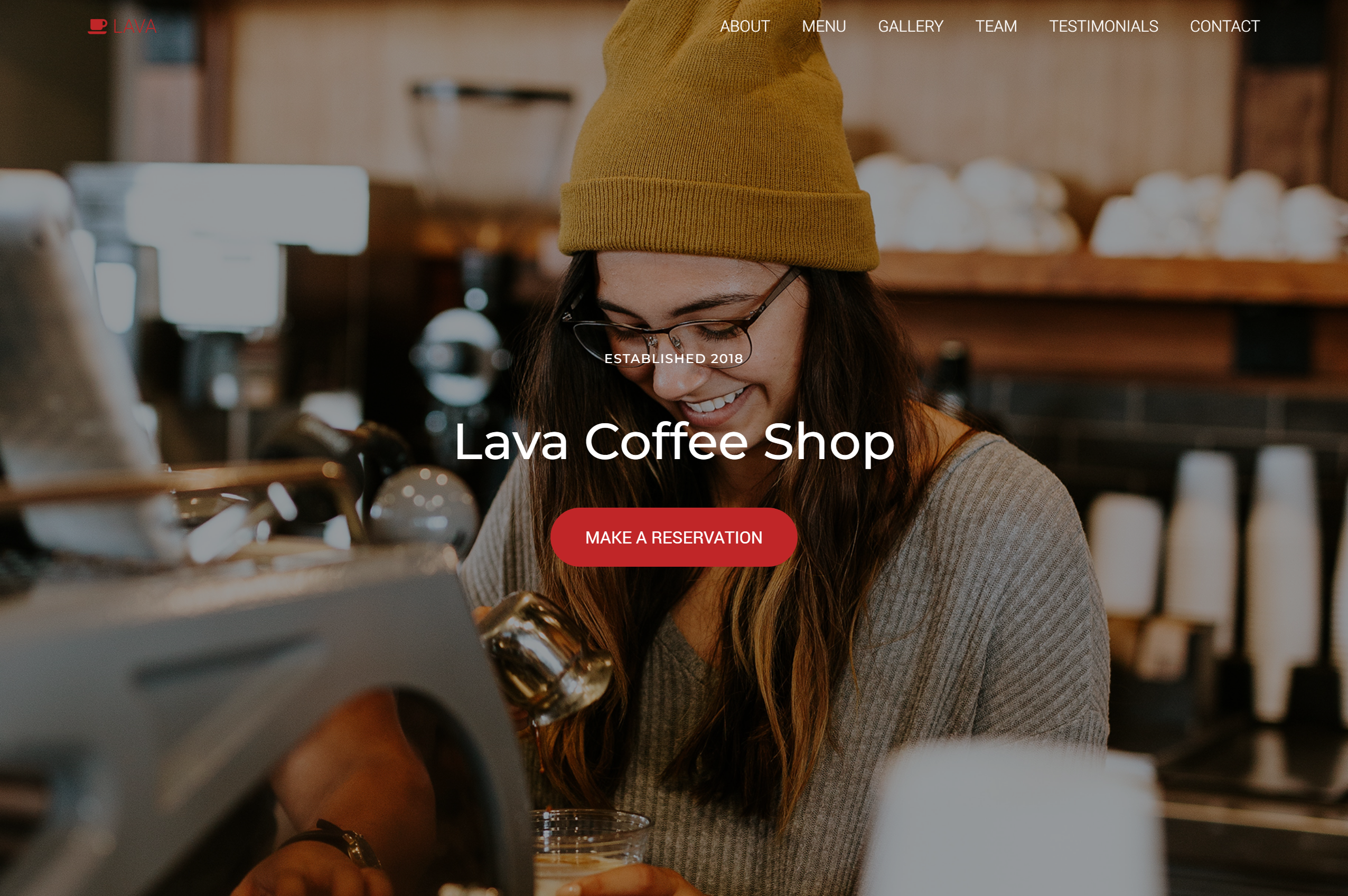 best bootstrap themes - lava